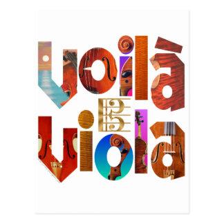 Voilà Viola! Postcards
