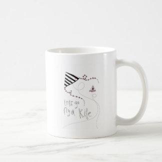 vol25 lets fly a kite coffee mug