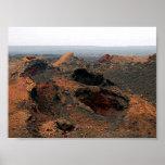 volcanes de Lanzarote Posters