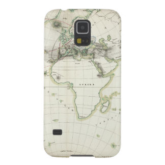 Volcanic Activity Map Galaxy S5 Cover