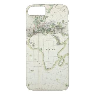 Volcanic Activity Map iPhone 8/7 Case