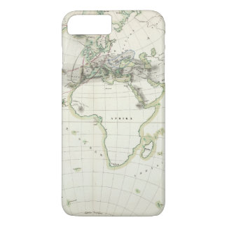 Volcanic Activity Map iPhone 8 Plus/7 Plus Case