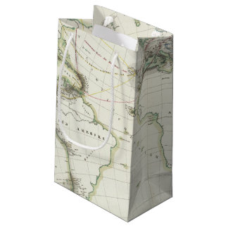 Volcanic Activity Map Small Gift Bag