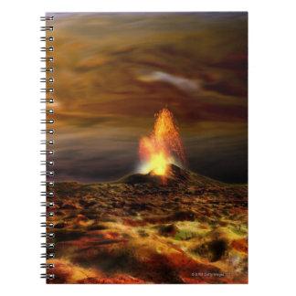 Volcanic Eruption on Io Notebook