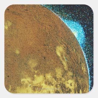 Volcanic Eruption on Io Square Sticker