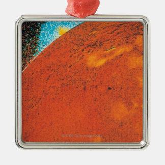 Volcanic Explosion on Io Christmas Ornament