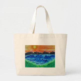 Volcanic Islands Large Tote Bag