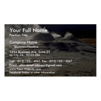 Volcanic land, Upper Geyser Basin, Yellowstone Nat Pack Of Standard Business Cards