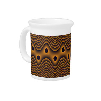 Volcanic Oceans Patterned Pitcher