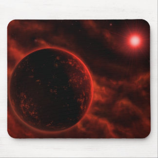 Volcanic Planet Mouse Pad