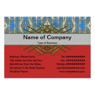 Volcanic Rock Formation Seamless Illusion Business Cards