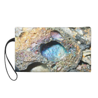 Volcanic Rock Wristlet Clutches