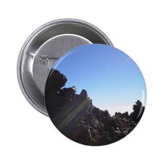 Volcanic Stone 6 Cm Round Badge