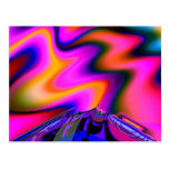 Volcano 2 Fine Fractal Art Postcard
