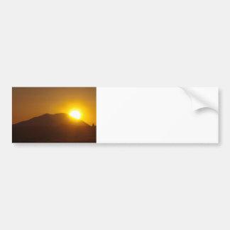 Volcano Eruption? Bumper Sticker