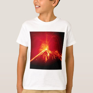 Volcano Hot Lava 1991 Costa Rica T-Shirt