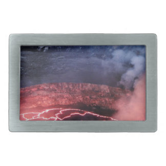 Volcano molten belt buckle