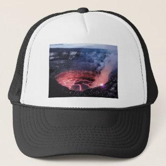 Volcano molten trucker hat