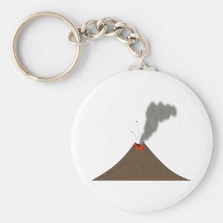 Volcano Mountain Key Ring