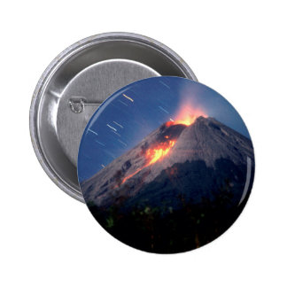 Volcano Natural Wonder 6 Cm Round Badge