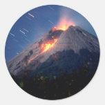 Volcano Natural Wonder Sticker