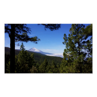 Volcano of the Teide - Tenerife - Canary 2 Poster