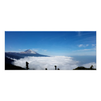 Volcano of the Teide - Tenerife - Canary 3 Poster