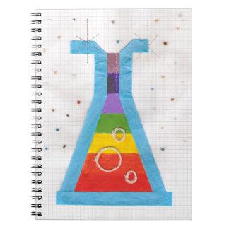 Volcano Vial Notebook