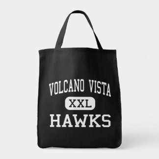 Volcano Vista - Hawks - High - Albuquerque Tote Bags