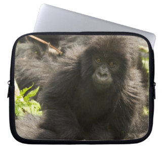 Volcanoes National Park, Mountain Gorilla, baby Laptop Sleeve