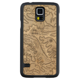 Volcans Haute Loire Carved Maple Galaxy S5 Case