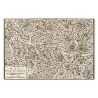 Volcans Haute Loire Tissue Paper