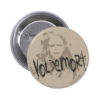 Voldemort Dark Arts Graphic 6 Cm Round Badge