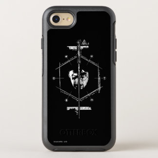 Voldemort Harry Potter Face Off Graphic OtterBox Symmetry iPhone 8/7 Case