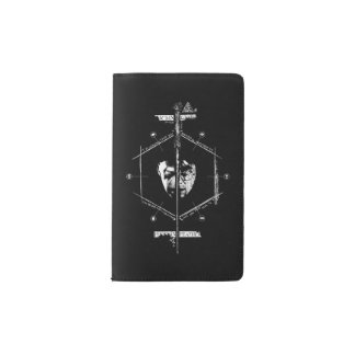 Voldemort Harry Potter Face Off Graphic Pocket Moleskine Notebook