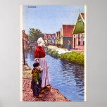 Volendam Holland Poster