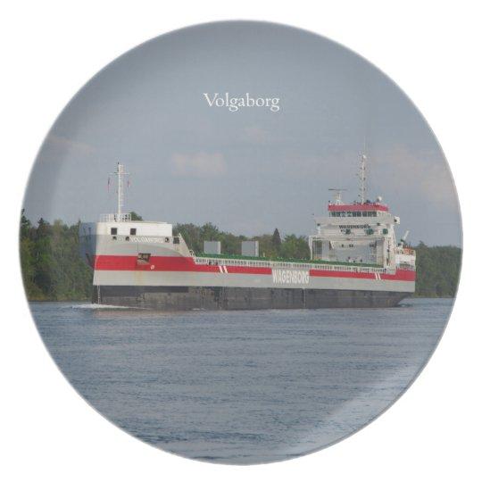 Volgaborg plate