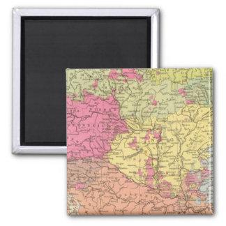 Volkerkarte v Oesterreich Ungarn, Austria Hungary Magnet
