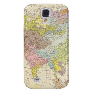 Volkerkarte von Asien - Map of Asia Galaxy S4 Case