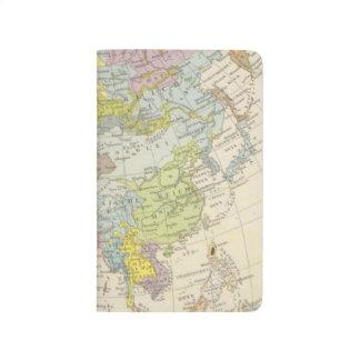 Volkerkarte von Asien - Map of Asia Journal