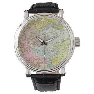 Volkerkarte von Asien - Map of Asia Watch
