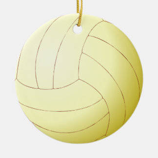 Volley Ball Christmas Ornament