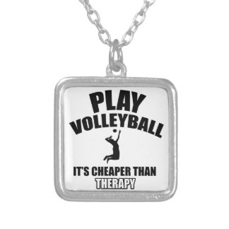 Volley ball designs custom jewelry