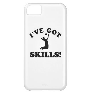 volley ball skills Vector Designs iPhone 5C Cases