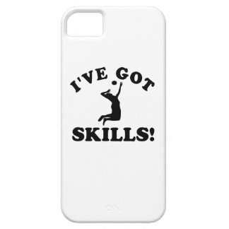 volley ball skills  Vector Designs iPhone 5 Cover