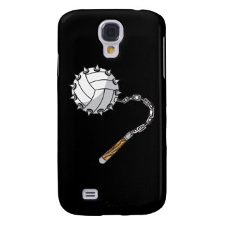 volley ball spikes mace graphic galaxy s4 case
