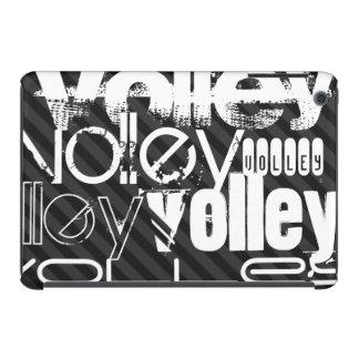 Volley; Black & Dark Gray Stripes iPad Mini Retina Cases