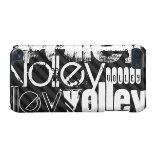 Volley; Black & Dark Gray Stripes iPod Touch (5th Generation) Cases