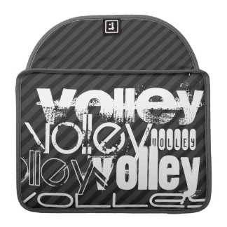 Volley; Black & Dark Gray Stripes Sleeve For MacBook Pro