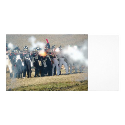 Volley Fire - Photo Card